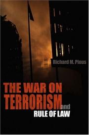 Cover of: The war on terrorism and rule of law