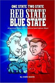 Cover of: One State Two State Red State Blue State