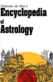 Cover of: Encyclopedia of Astrology | Nicholas De Vore