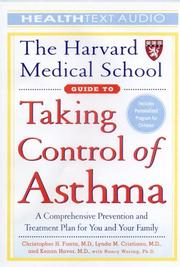 Cover of: The Harvard Medical School Guide to Taking Control of Asthma (The Harvard Medical School Guides)