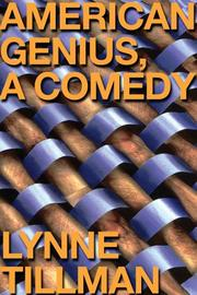 Cover of: American Genius, A Comedy by Lynne Tillman