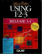 Cover of: Using 1-2-3 release 3.4 | Que Development Group