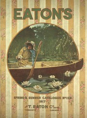 Eatons' spring and summer catalogue.