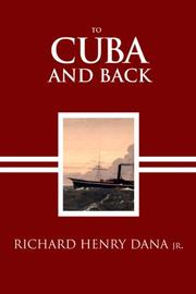 Cover of: To Cuba and Back