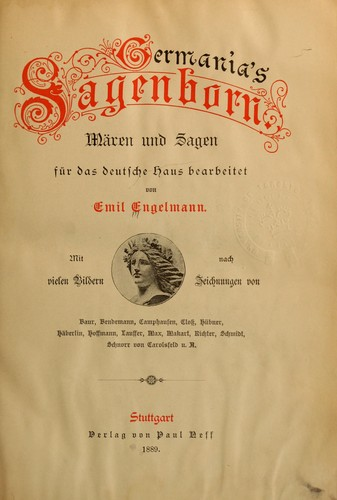 Germania's Sagenborn by Emil Engelmann