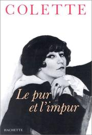 Cover of: Le pur et l'impur