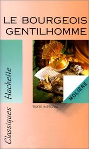 Cover of: Le Bourgeois Gentilhomme |