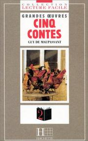 Cover of: Cinq Contes