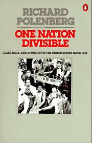 Cover of: One nation divisible