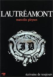 Cover of: Lautréamont