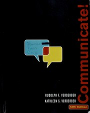 Cover of: Communicate! |