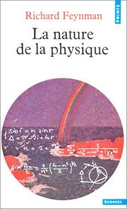 Cover of: La nature de la physique