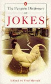 Cover of: The Penguin dictionary of jokes, wisecracks, quips, and quotes |