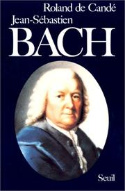 Cover of: Jean-Sébastien Bach