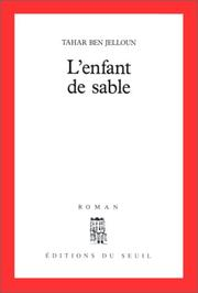 Cover of: L' enfant de sable