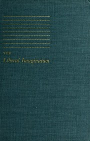 Cover of: The liberal imagination | Lionel Trilling