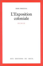 Cover of: L'exposition coloniale
