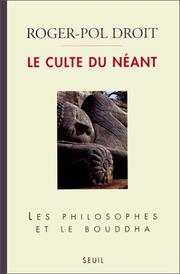 Cover of: Le culte du néant
