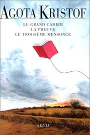 Cover of: Le grand cahier