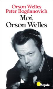 Cover of: Moi, Orson Welles