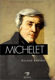 Cover of: Michelet