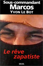 Cover of: Le reve zapatiste