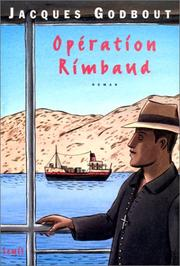 Cover of: Opération Rimbaud