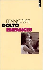 Cover of: Enfances
