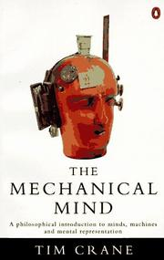 Cover of: The mechanical mind