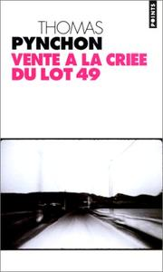 Cover of: Vente à la criée du lot 49