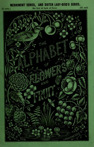 The alphabet of flowers and fruit by