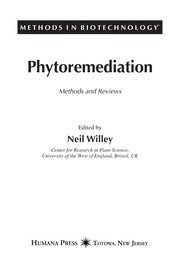 Cover of: Phytoremediation | edited by Neil Willey