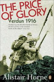 Cover of: The price of glory