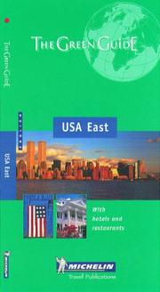 Cover of: Michelin The Green Guide USA East | Michelin Travel Publications