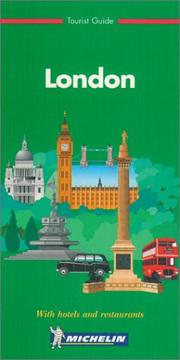 Cover of: Michelin THE GREEN GUIDE London, 2e (THE GREEN GUIDE) | Michelin Travel Publications