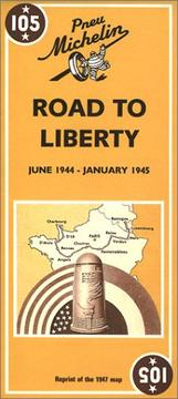 Michelin Road to Liberty Map No. 105