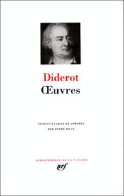 Cover of: Œuvres