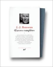 Cover of: Rousseau