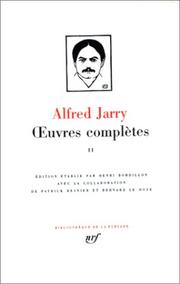 Cover of: Œuvres complètes