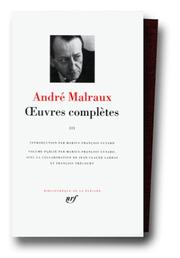 Cover of: Malraux