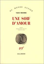 Cover of: Une soif d'amour
