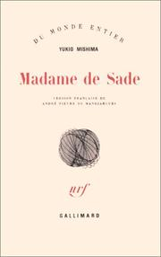 Cover of: Madame de Sade