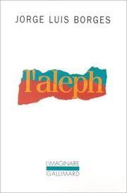 Cover of: L' Aleph