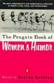 Cover of: Women's Humor, The Penguin Book of