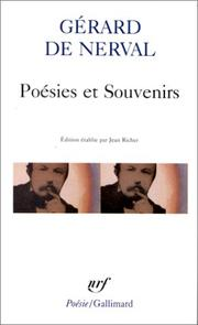 Cover of: Poesies Et Souvenirs