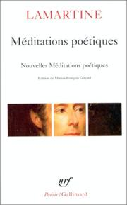 Cover of: Me ditations poe tiques