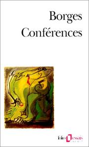 Cover of: Conferences
