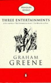 Cover of: Three Entertainments (Classic Crime) | Graham Greene