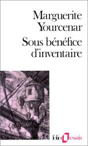 Cover of: Sous bénéfice d'inventaire