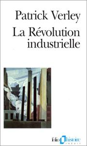 Cover of: La Révolution industrielle
